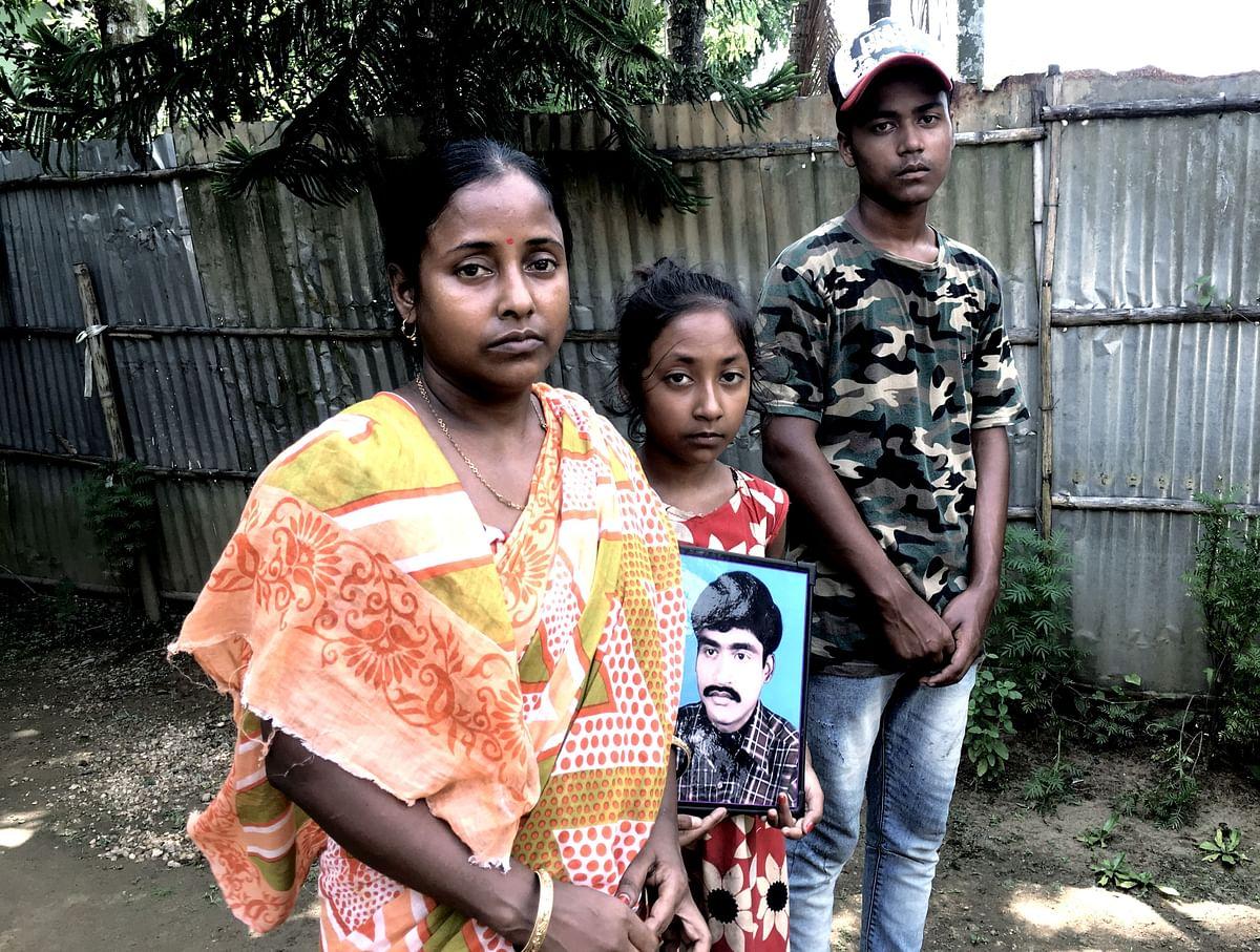Subrata Dey died in Goalpara Detention Camp in 2018.