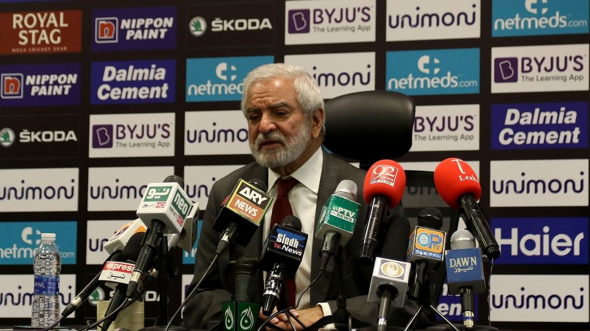 File picture of PCB Chairman Ehsan Mani.