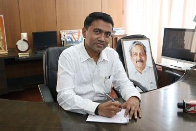 Pramod Sawant, Chief Minister of Goa.