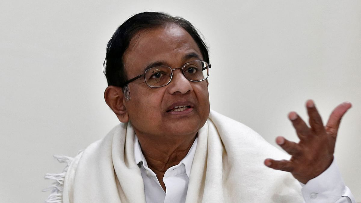 File image of Congress leader P Chidambaram.