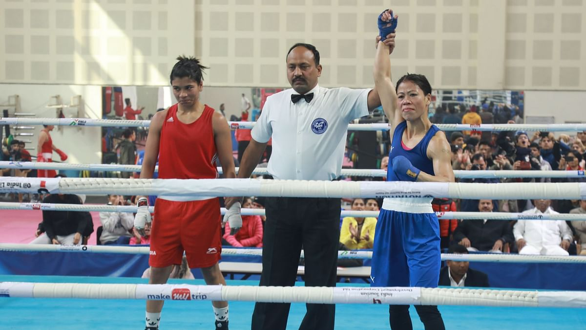 Mary Kom will be eyeing an Olympic berth after she beat Nikhat  Zareen in the final trial in the 51kg category for the Olympic qualifiers in China.