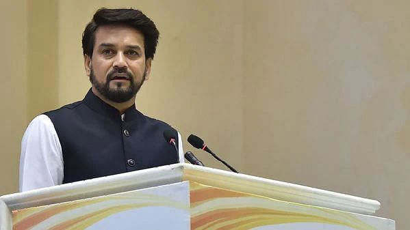 Anurag Thakur, Union Minister of State, Finance and Corporate Affairs.