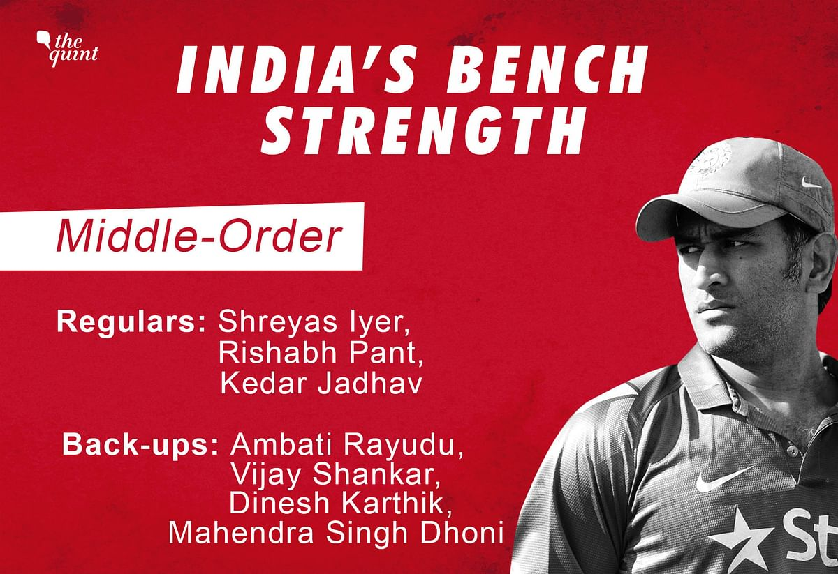 In 2019, India's Bench Strength Proved a Big Win For Virat Kohli