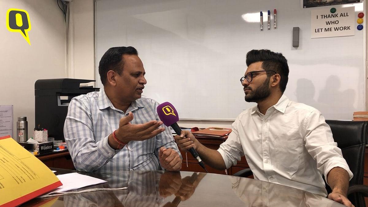 'Odd-Even Debatable, But Pollution Hasn't Gone Up': Satyendar Jain