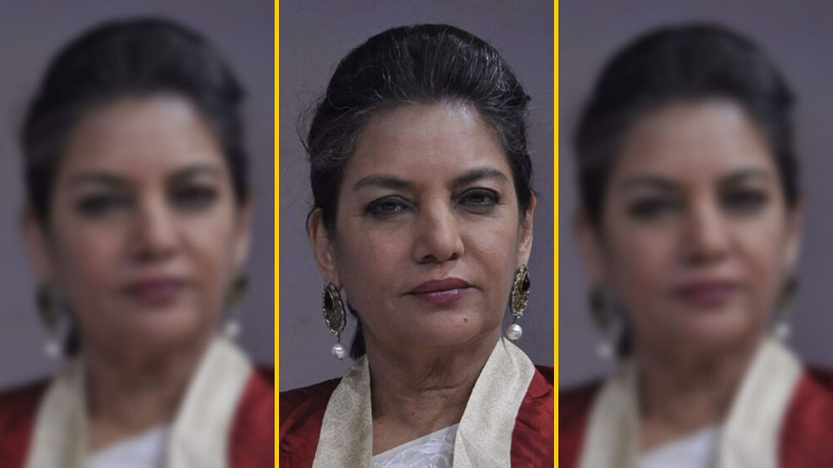 Shabana Azmi speaks against the CAA and Jamia violence.