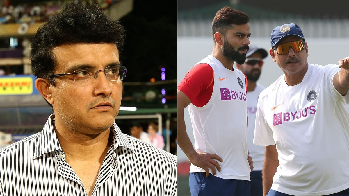 Will share my thoughts with Virat and Ravi said BCCI president Sourav Ganguly.