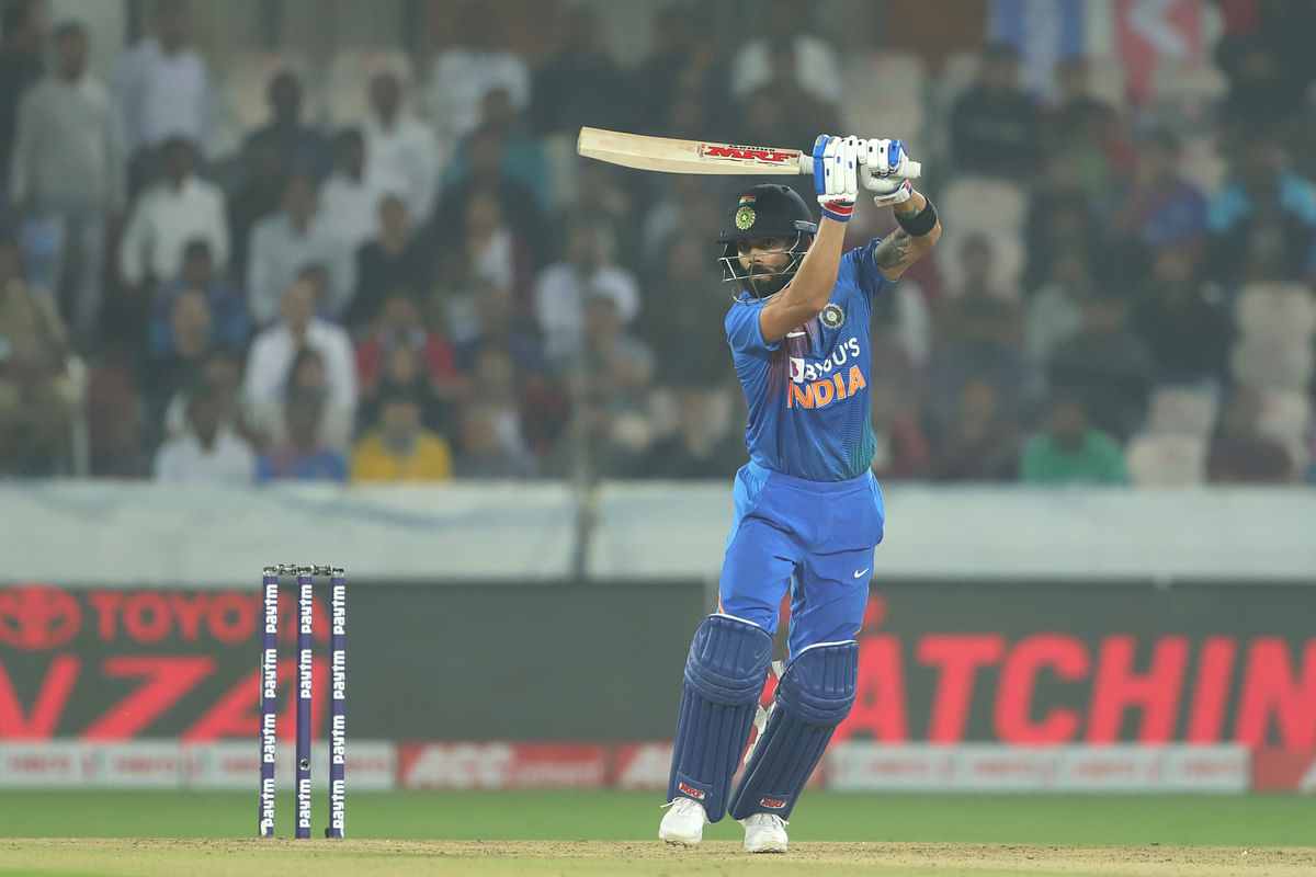 Kohli has registered his career-best score in T20Is, 94 not out off 50 balls.