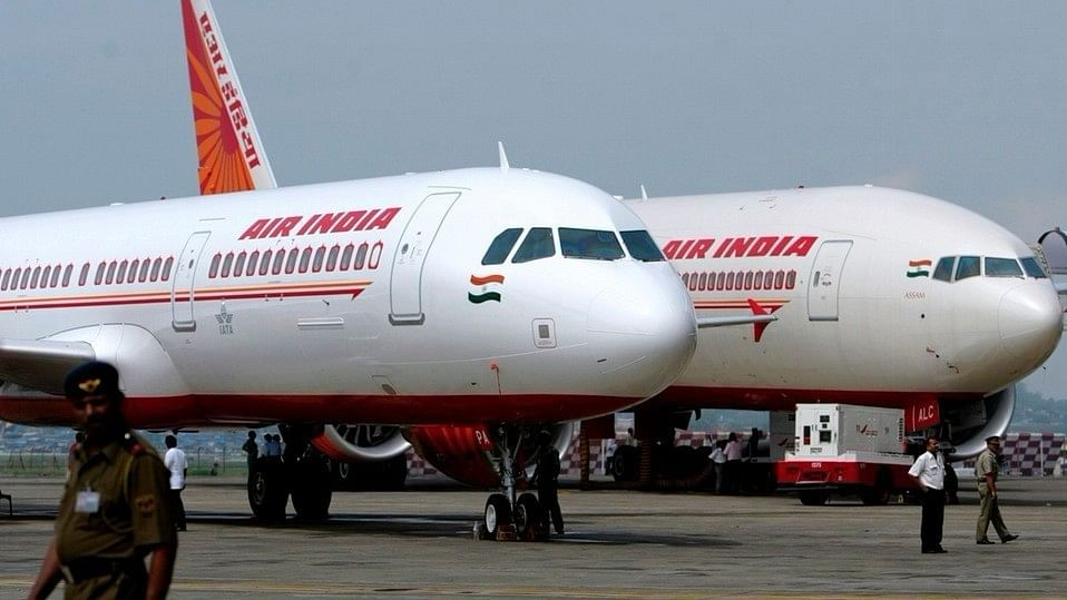 File picture of Air India flights.