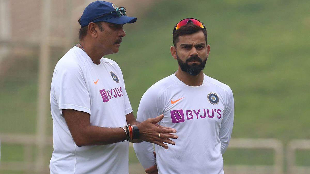 File photo of Ravi Shastri (Left) and Virat Kohli.