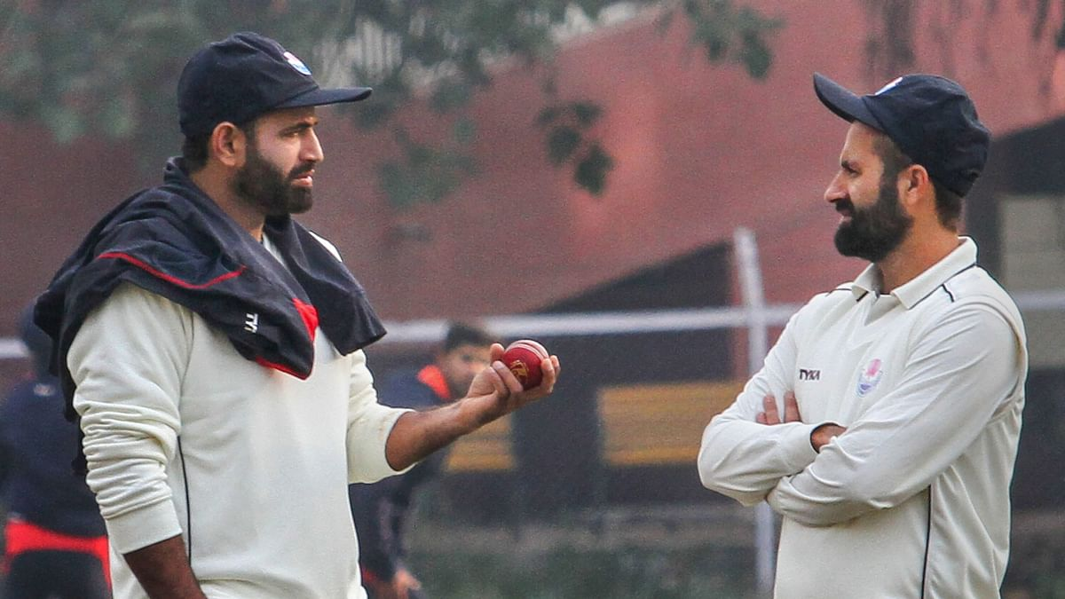 Irfan Pathan (left) is currently the coach of Jammu and Kashmir.