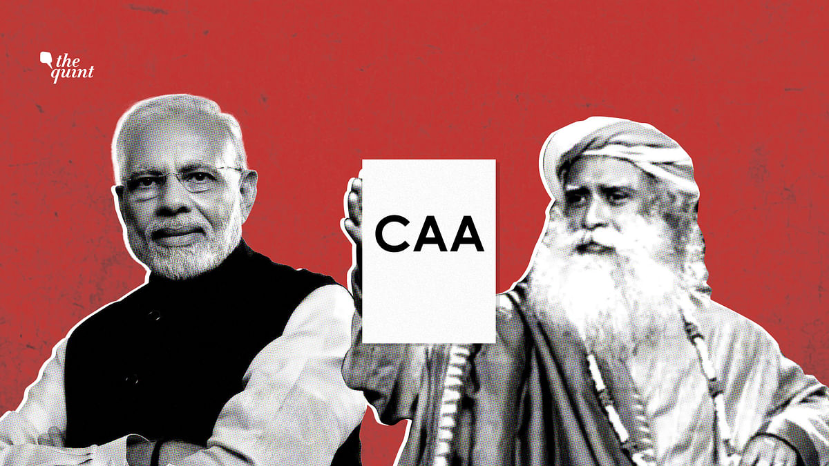 Jaggi Vasudev's CAA Video: 22 Minutes of Half-Truths & Gaslighting