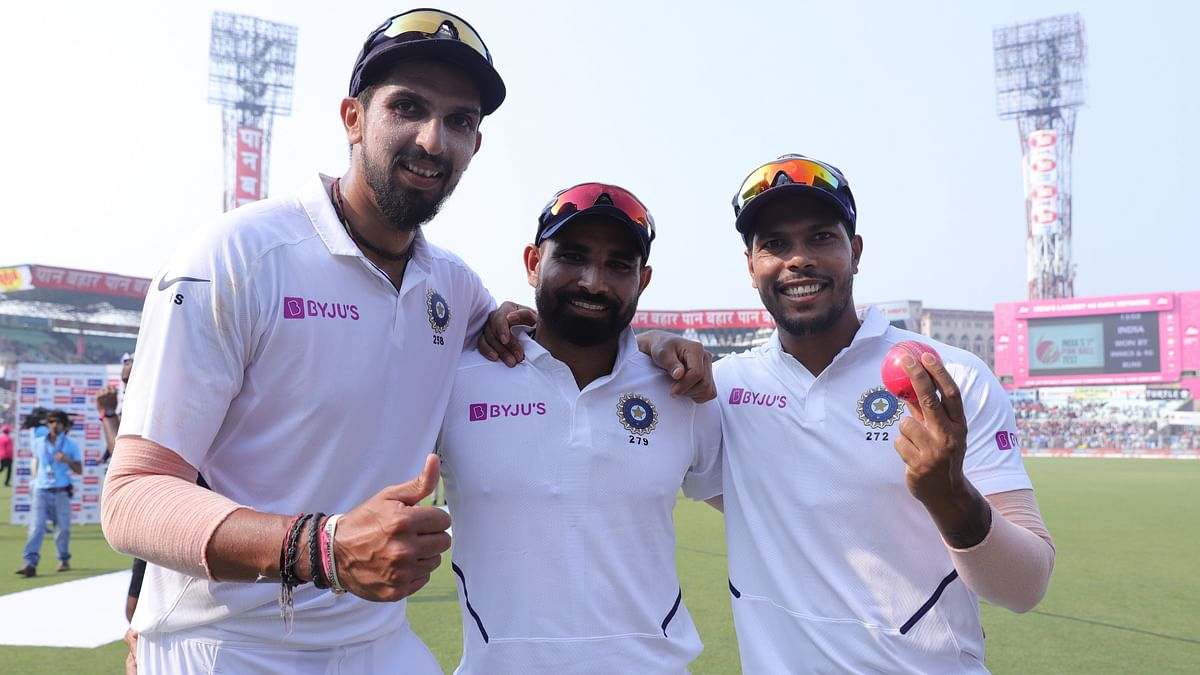 The trio of Umesh Yadav (23), Ishant Sharma (25) and Mohammed Shami (33) picked 81 wickets in Tests this year, averaging less than 20.