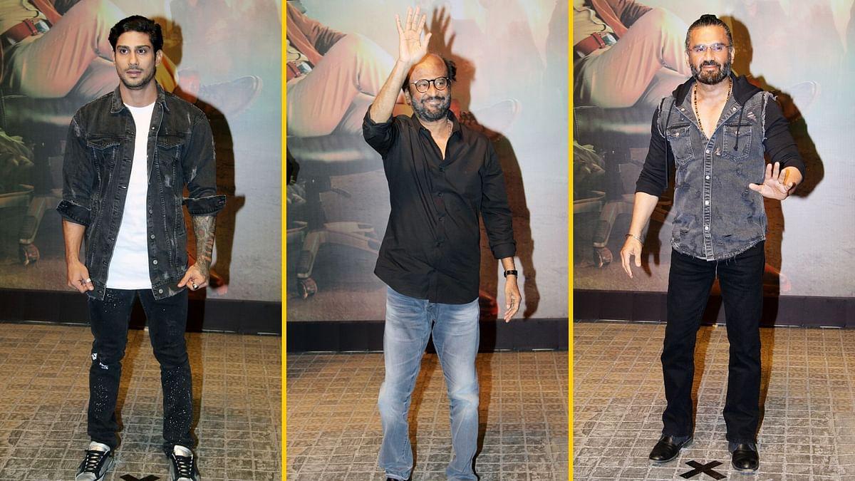 In Pics: Rajinikanth, Suniel Shetty at 'Darbar' Trailer Launch