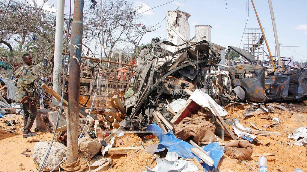 Truck Bomb in Somalia's Capital Kills at Least 76 People