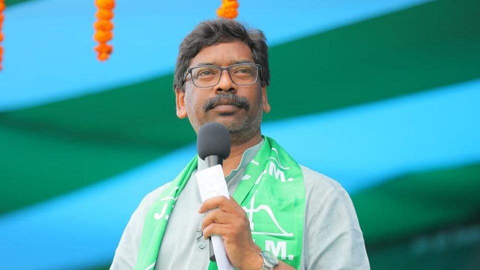 Hemant Soren Sworn-in as the New Chief Minister of Jharkhand