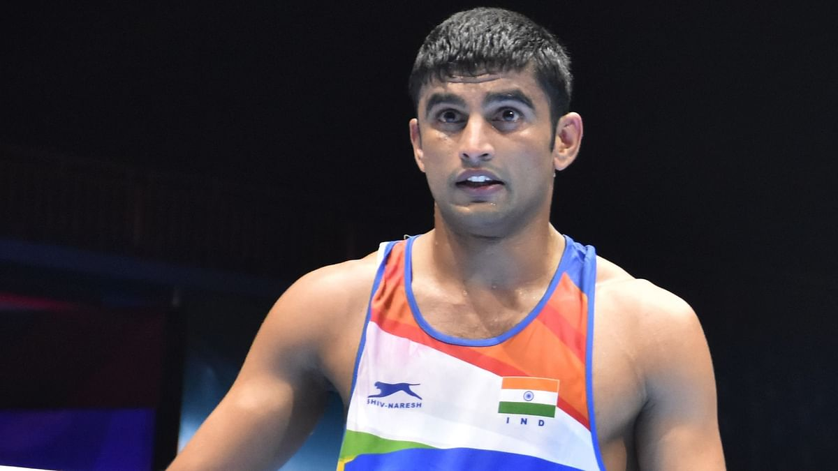 Manish thoroughly dominated his quarter-final bout against Pakistan's Suleman Baloch to register a commanding 5-0 victory.