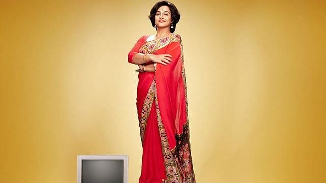 Vidya Balan as Shakuntala Devi in the film.