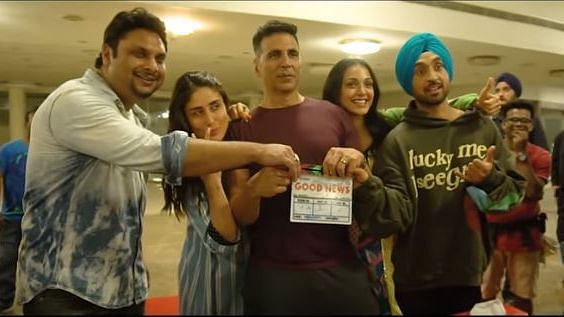 'Good Newwz' Making is Funnier Than the Trailer, Thanks to Akshay