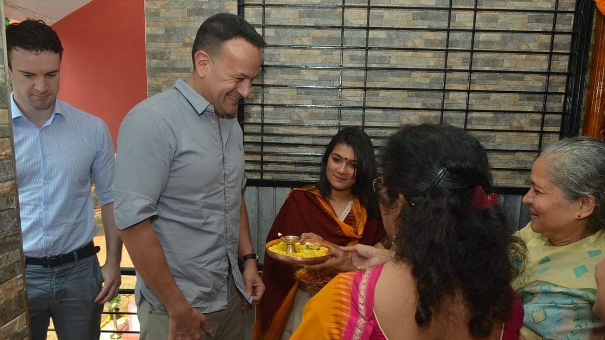 'Special Moment': Ireland PM Visits Father's Village in Maha