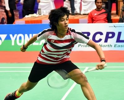 Badminton player Ashmita Chaliha.