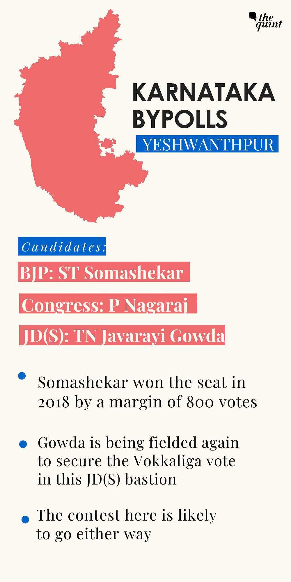 How Karnataka Bypoll Battle is Poised: A Seat-Wise Analysis