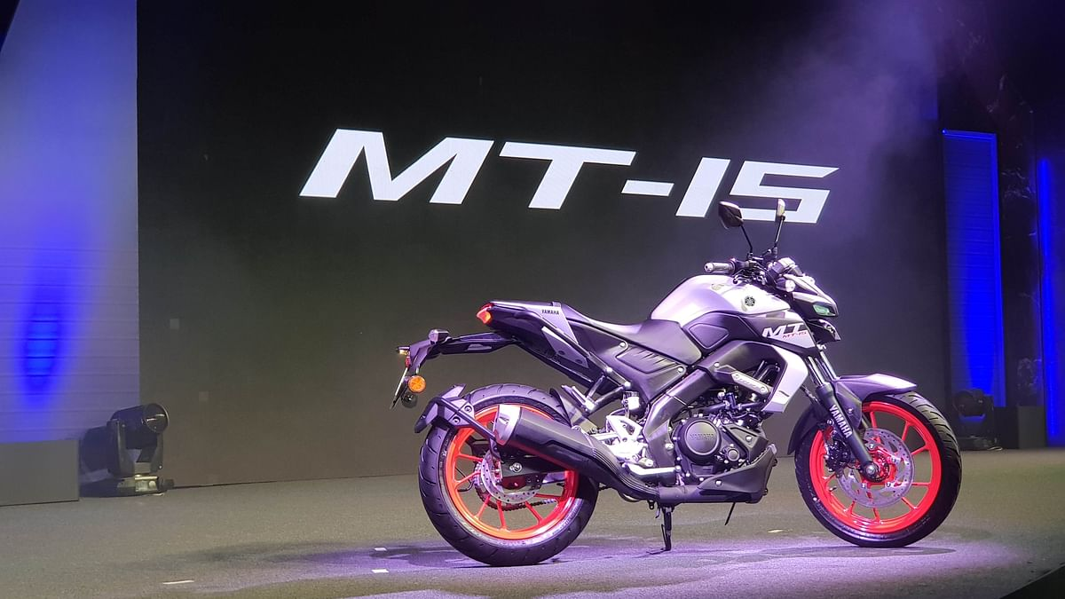 The Yamaha MT-15, a 155 cc sports commuter, now meets BS-6 norms.