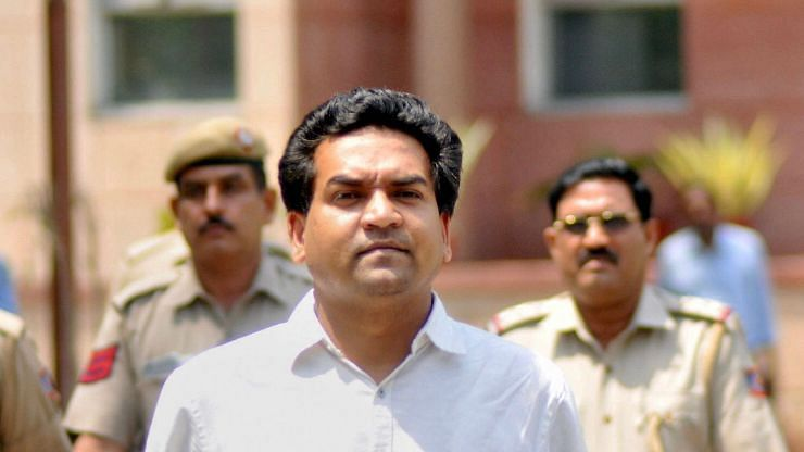Kapil Mishra Apologises to AAP's Satyendar Jain for Bribery Remark