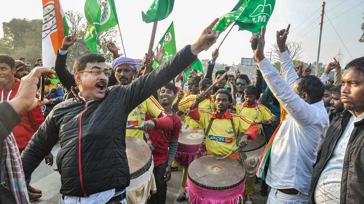 BJP Loses Another State as JMM-Led Alliance  Bags Jharkhand