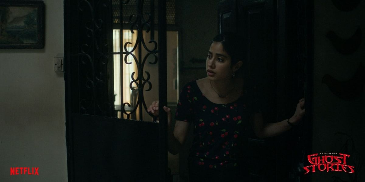 Janhvi Kapoor in <i>Ghost Stories.</i>
