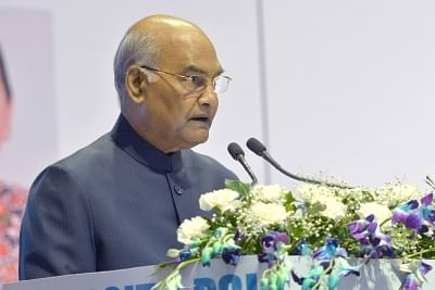 Kanpur: President Ram Nath Kovind addresses at the inauguration of Conference on