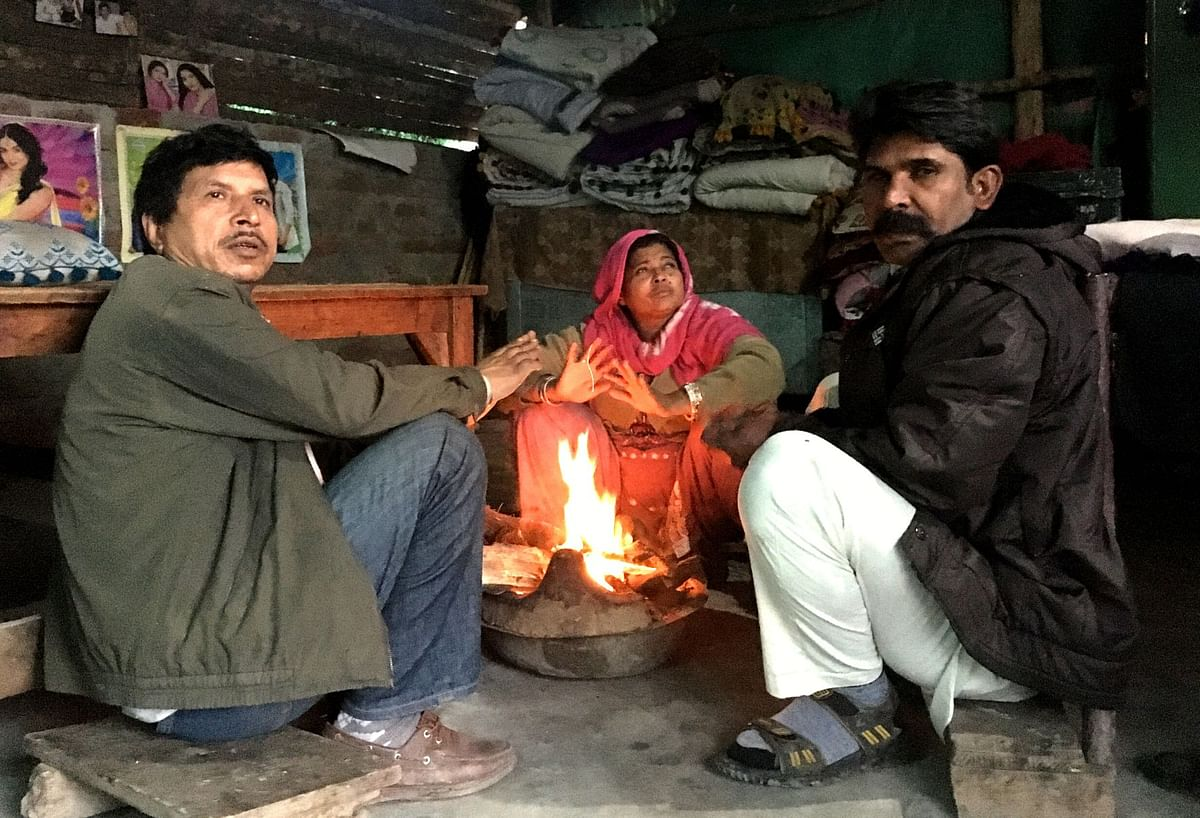 Without electricity and other facilities, most refugees live in appalling conditions.