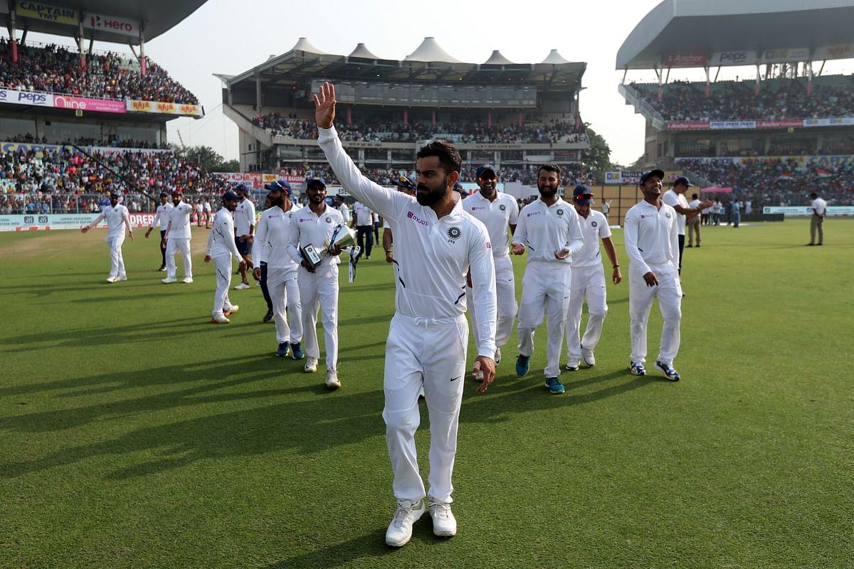 Virat Kohli's Indian team beat Bangladesh in both teams' first-ever Day-night Test.