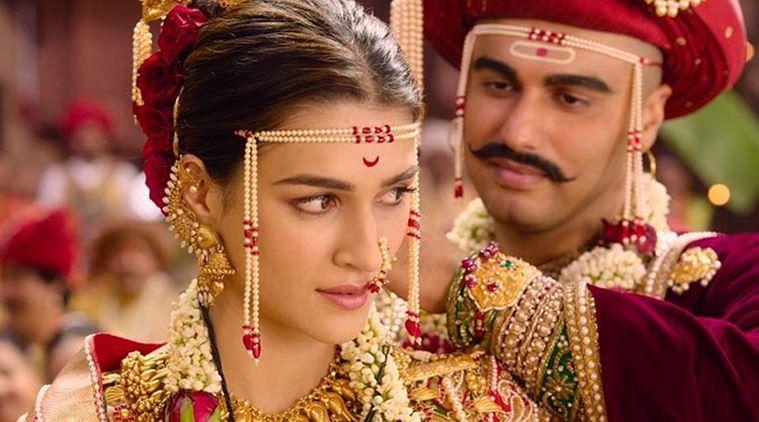 Kriti Sanon and Arjun Kapoor in <i>Panipat: The Great Betrayal.</i>