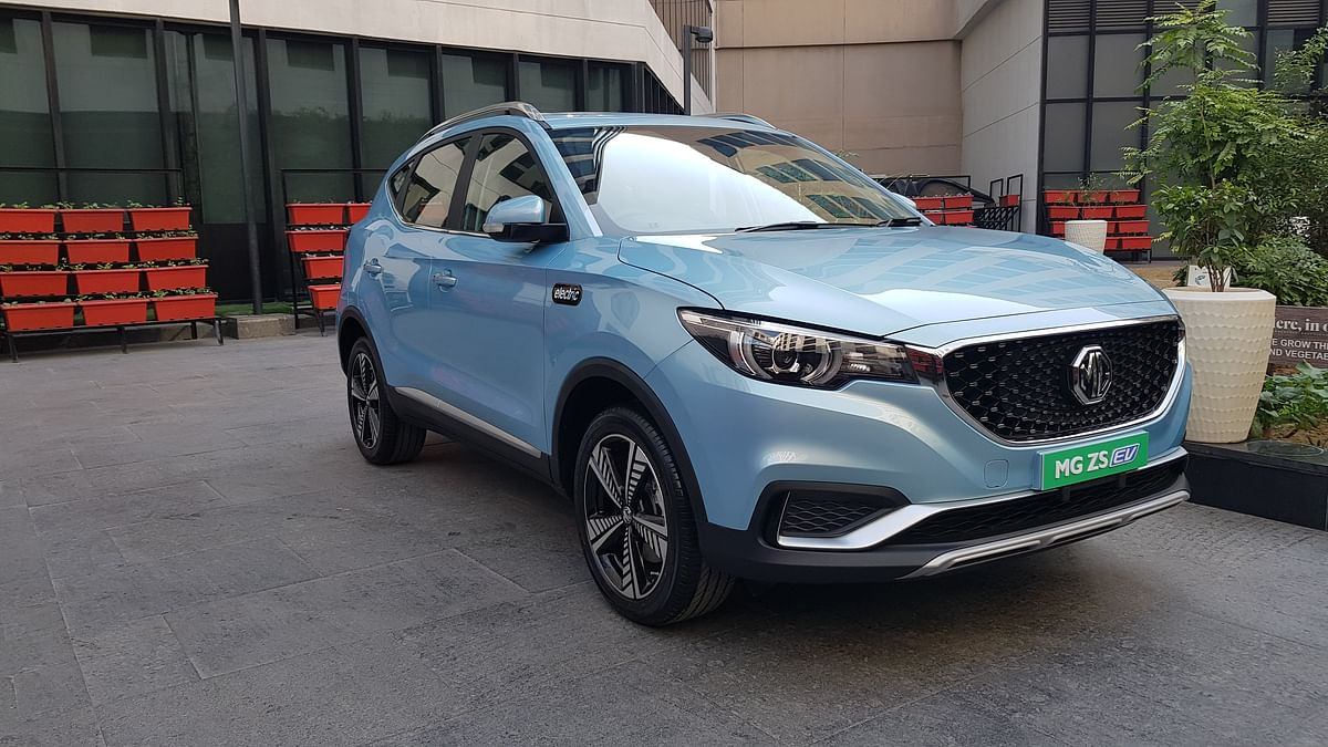 Mg ZS EV Bookings Open for Rs 50,000, Deliveries to Start Jan 2020