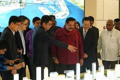 Colombo Port City opens for investors