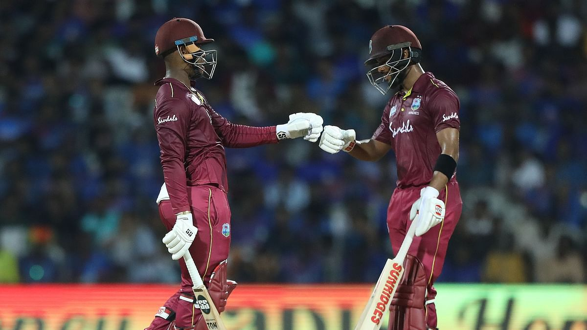 Shai Hope and Shimron Hetmyer's 218 partnership isWest Indies' second highest for any wicket against India in ODIs next only to the 221 for the second wicket between Vivian Richards and Gordon Greenidge at Jamshedpur on December 7, 1983.