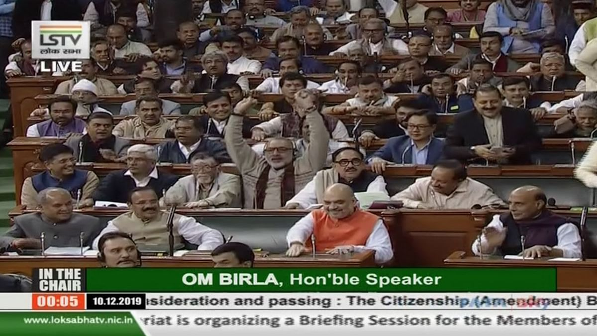Amid Protests,  Citizenship (Amendment) Bill Gets 311 'Ayes' in LS