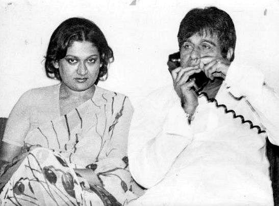 Dilip Kumar and Asma Rehmani.