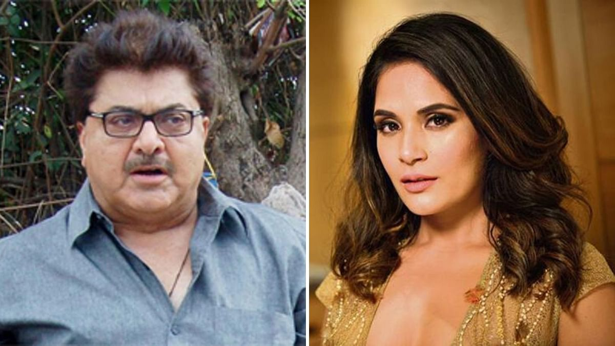 Filmmaker Ashoke Pandit and Richa Chadha have engaged in a war of words.