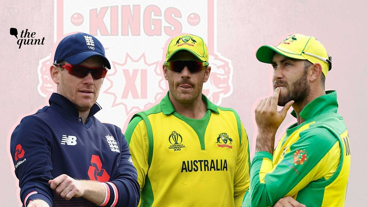 Eoin Morgan (left), Aaron Finch (middle) and Glenn Maxwell might be probable options for Kings XI Punjab to lead them in the upcoming IPL season.