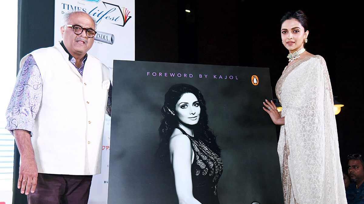 Deepika Padukone On her Personal Bond With Sridevi at Book Launch