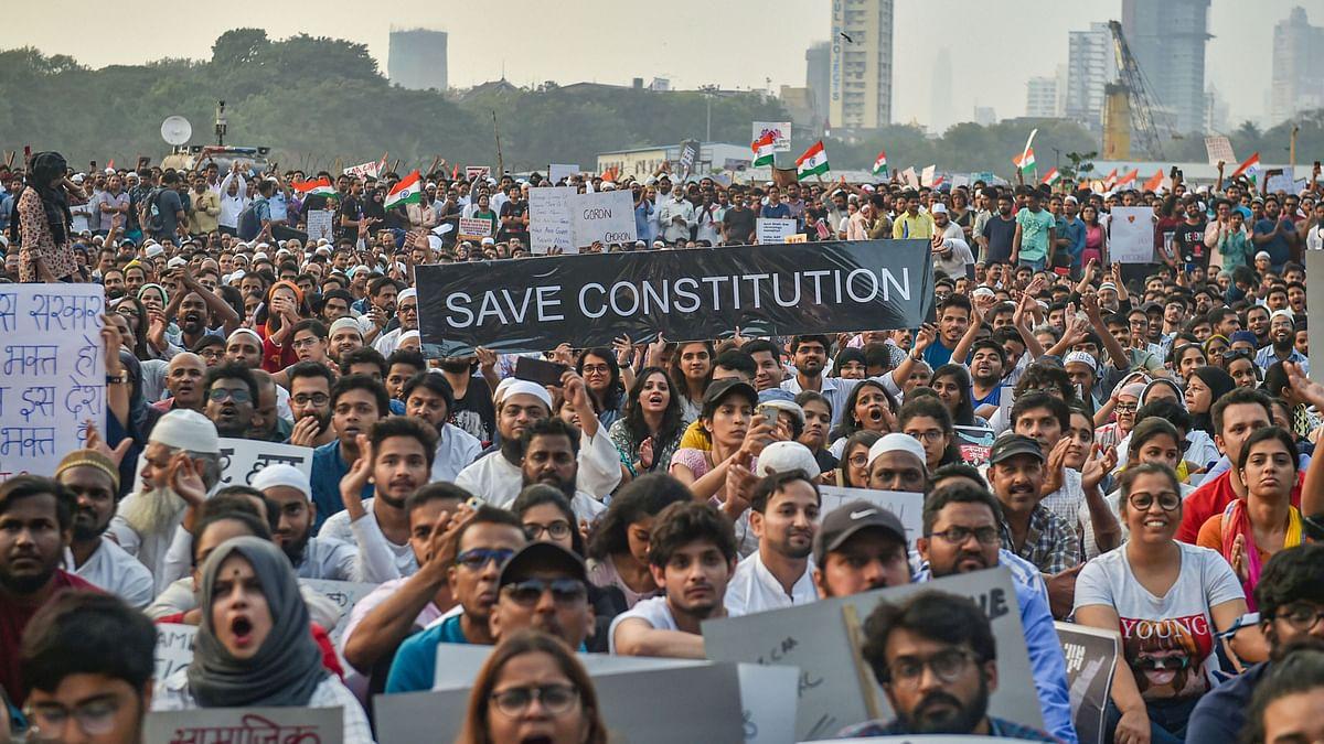 In Mumbai's Azaad Maidan, Amid 'Azaadi' Chants, People Resist CAA