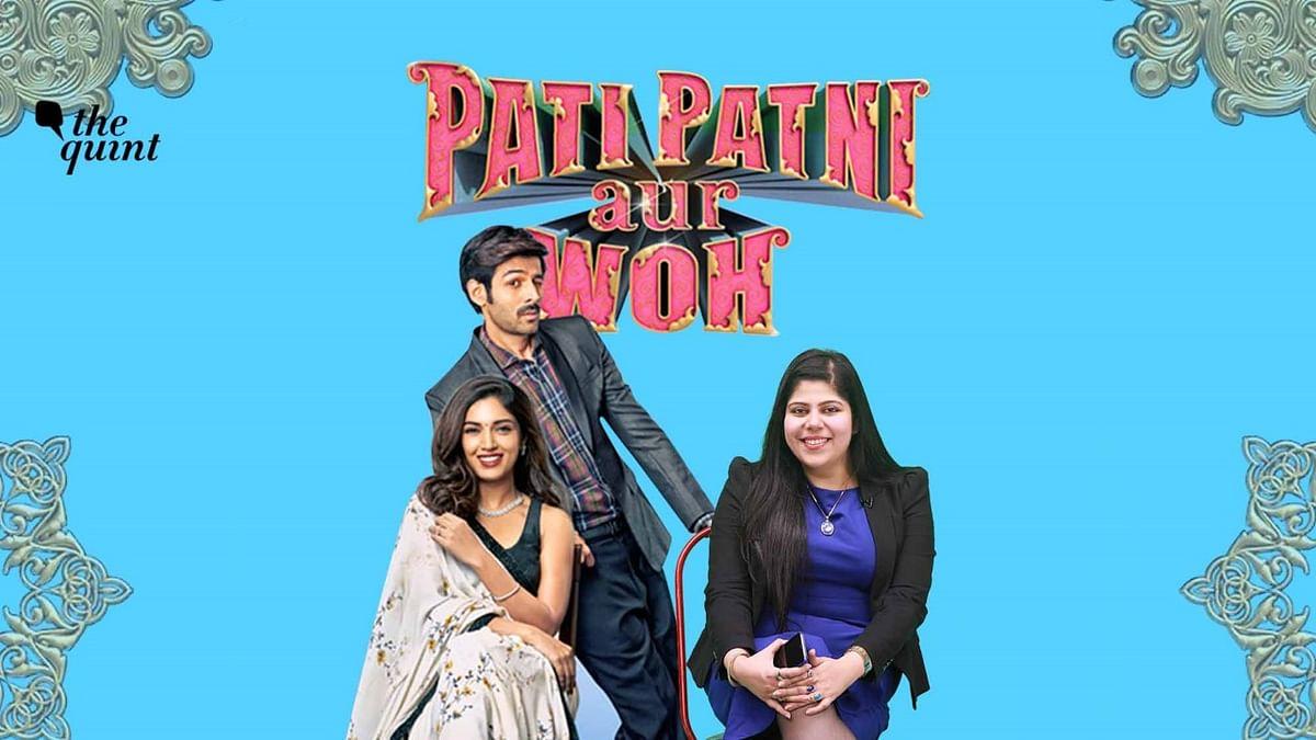 Stutee Ghosh review Pati Patni Aur Woh.