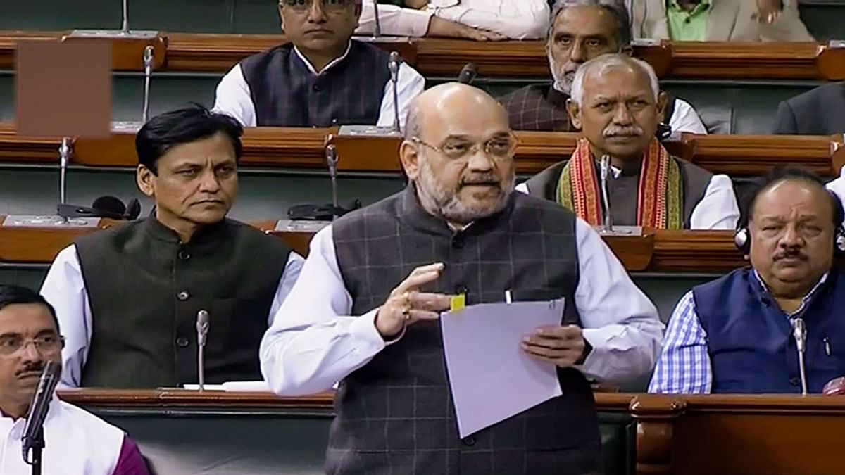 Home Minister Amit Shah rejected the opposition's charge of political vendetta on the bill to amend the Act governing the elite-Special Protection Group.