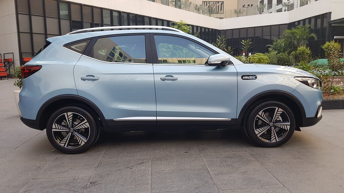 The MG ZS EV is a five-seat SUV.