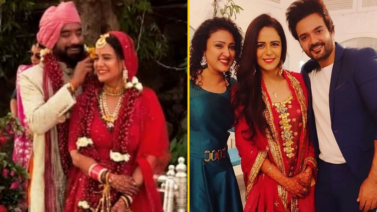 Mona Singh was wed on 27 December.