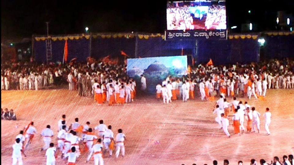Babri Masjid Demolition Reenactment: Karnataka Cops Book RSS Man