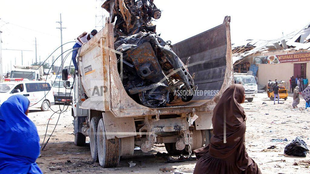 Truck Bomb in Somalia's Capital Kills at Least 78 People