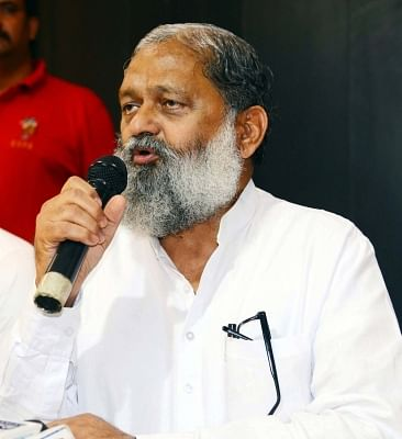 Haryana Sports Minister Anil Vij. (File Photo: IANS)
