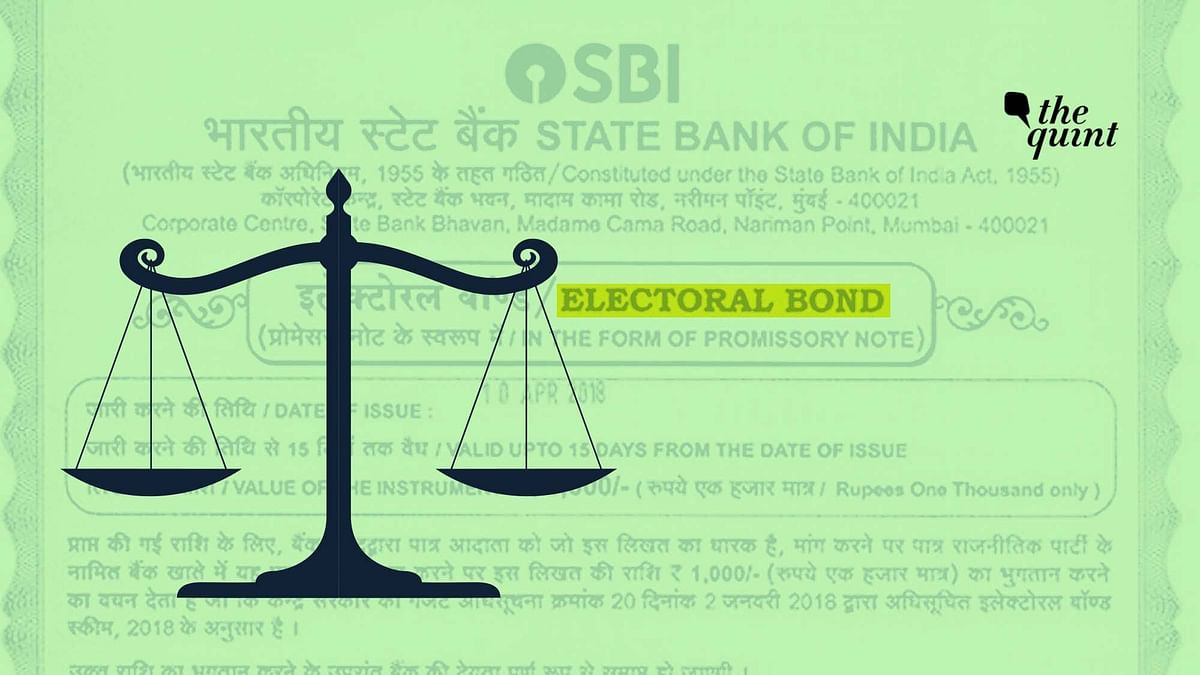 Law Ministry objected on issuing electoral bonds as promissory note which carried the danger of money laundering